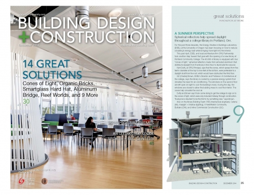 Building Design & Construction Magazine Feature