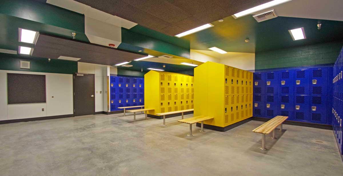 AHS Team Room Yellow