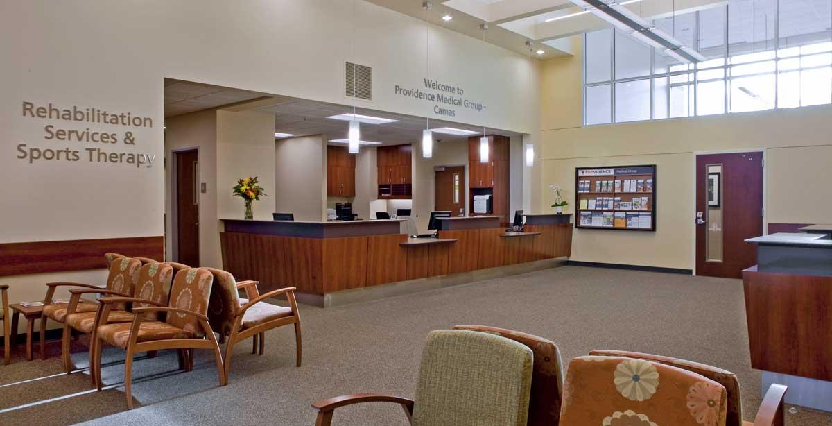 Providence Camas MOB Waiting Room