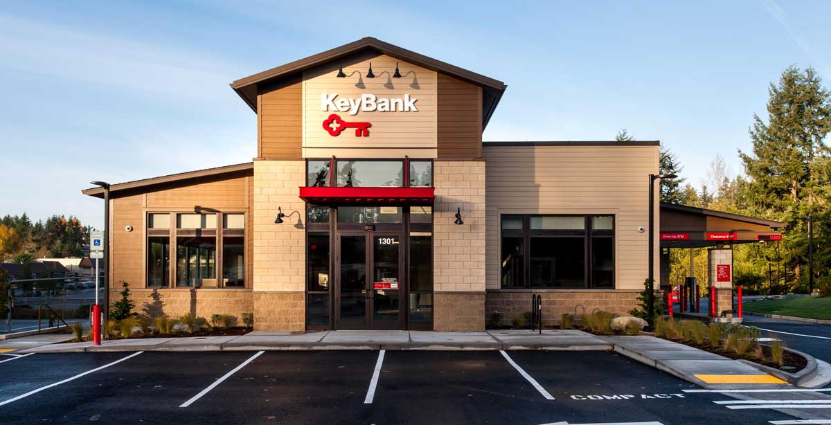 KeyBank Bainbridge Front Exterior