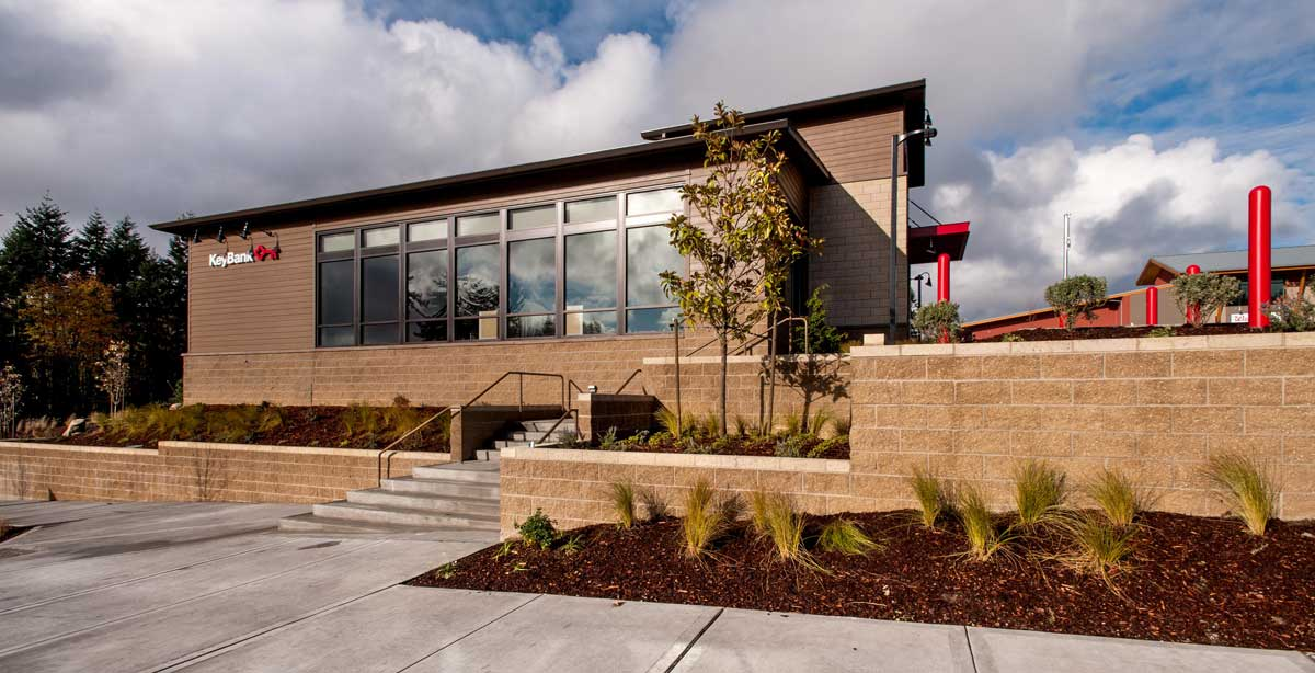 KeyBank Bainbridge Exterior Side View