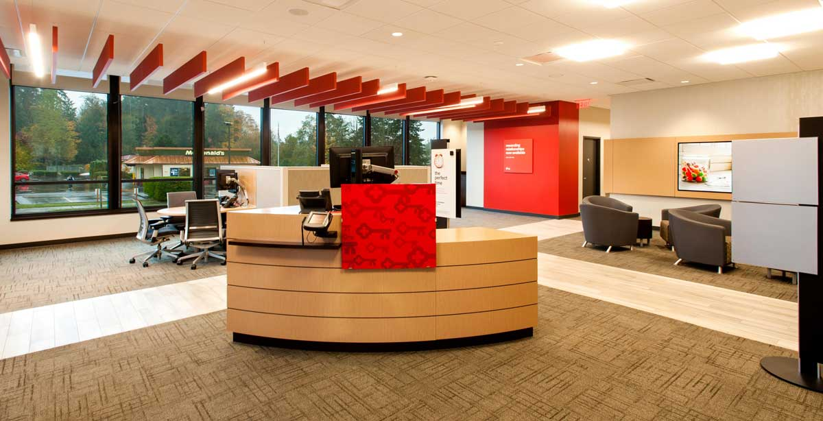 KeyBank Bainbridge Middle Desk