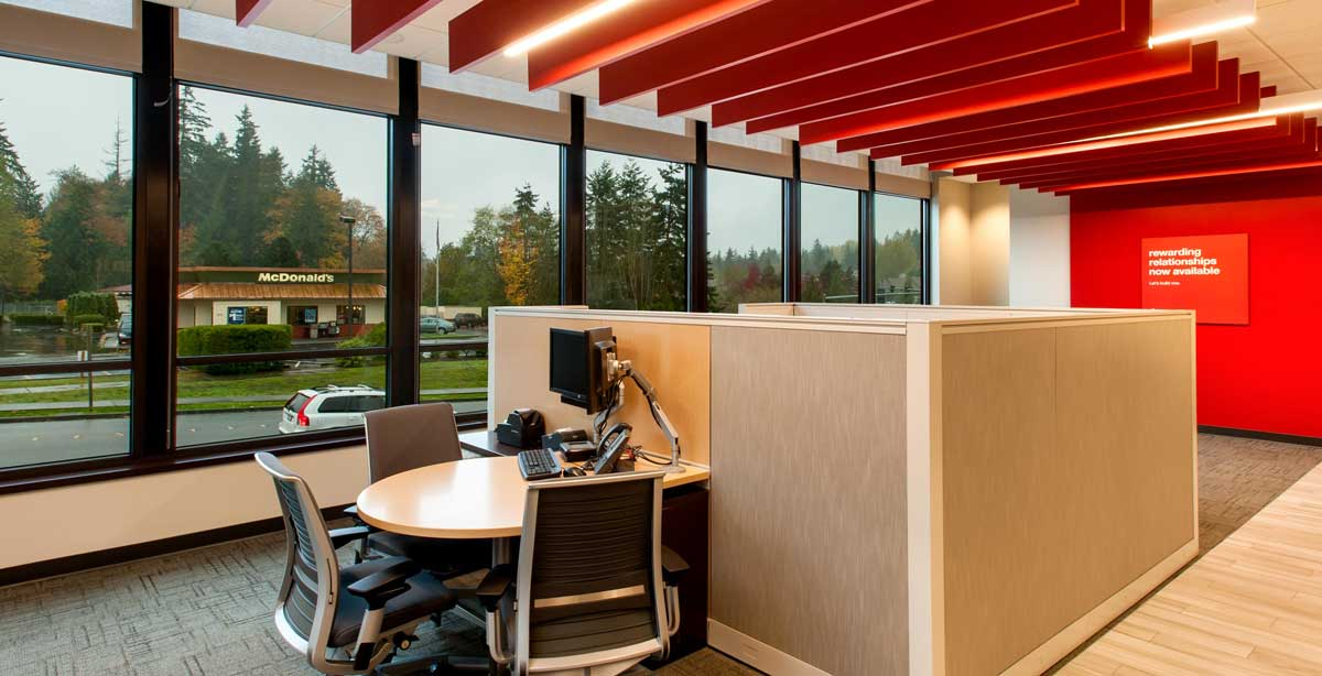KeyBank Bainbridge Table Desk Cubicle
