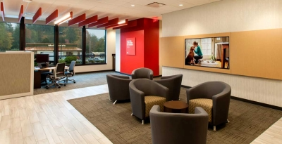KeyBank Bainbridge Waiting Area