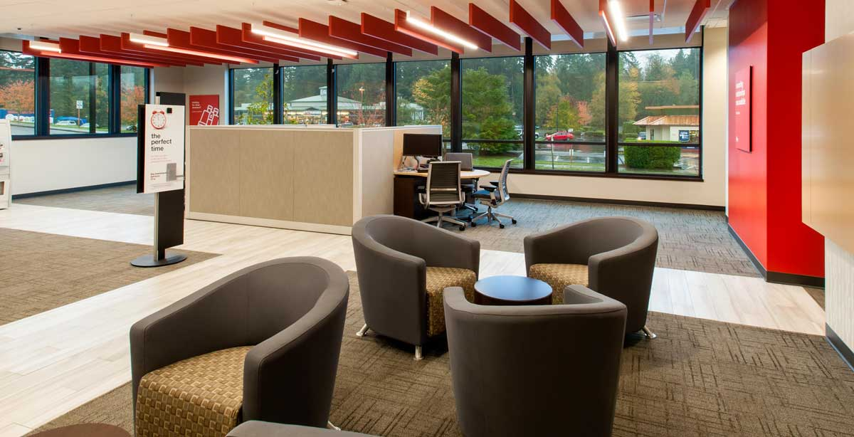 KeyBank Bainbridge Waiting Area Chairs