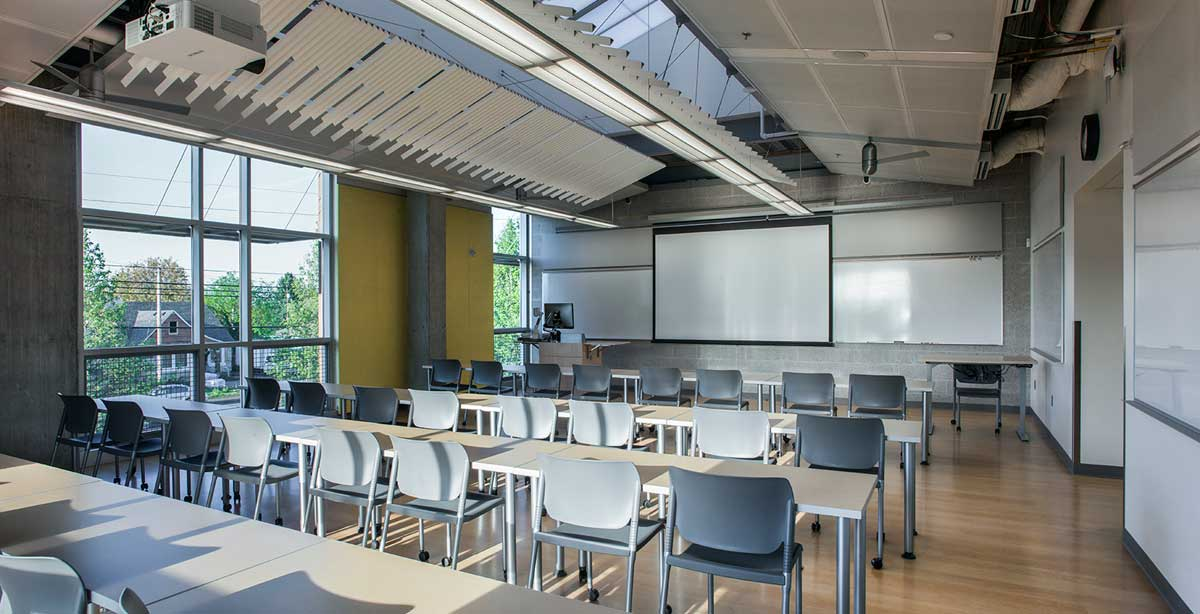 PCC SE Classroom Panorama