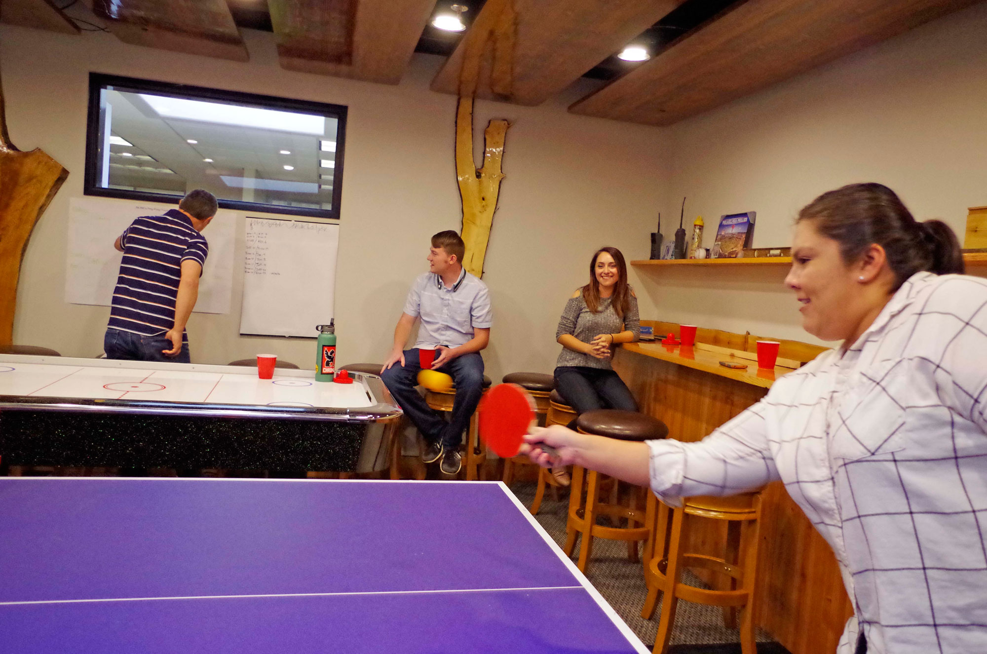 Inline Office Ping-Pong Tournament 2016
