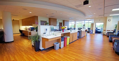 OHSU Oncology Desk and Chairs