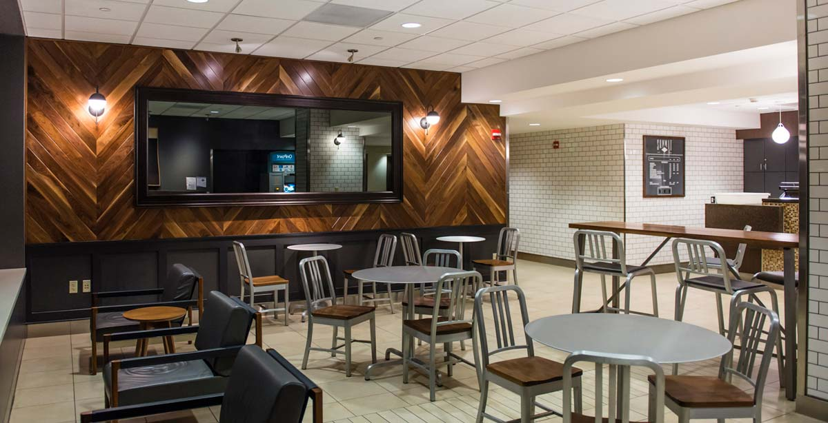 Summit Cafe Sitting Area