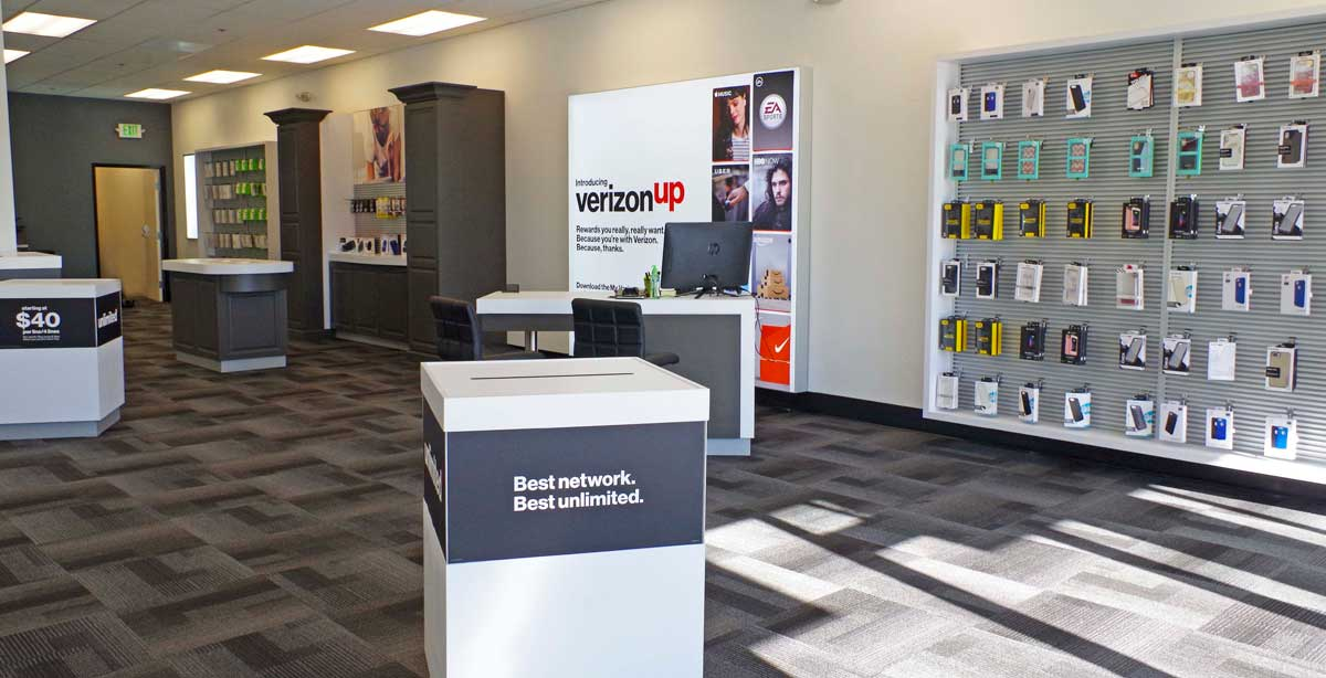 Verizon Shop Close Up