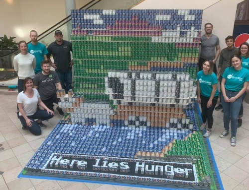 INLINE & Hennbery Eddy Architects Teamed Up to Build a Structure Out of Canned Food