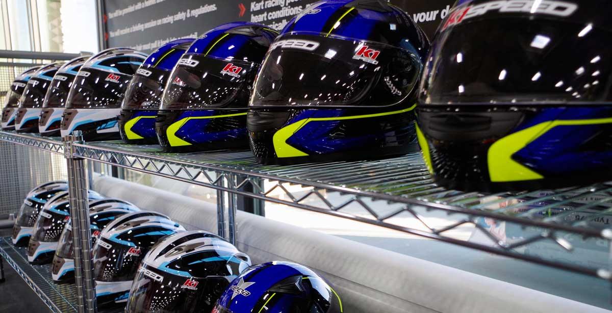 K1 Speed helmets