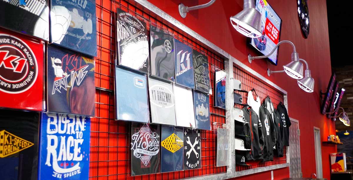K1 Speed Merchandise