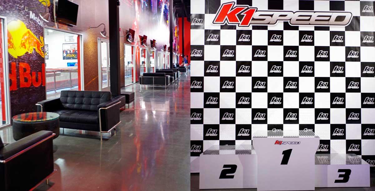 K1 Speed Podium Hall
