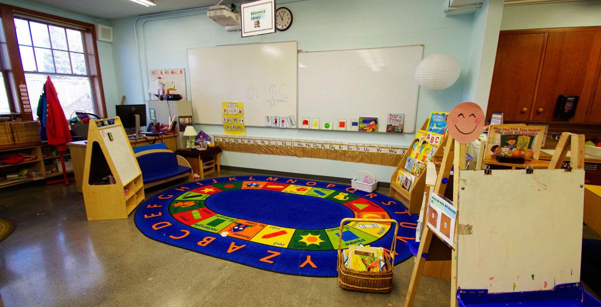 Reedville High School Spanish Classroom