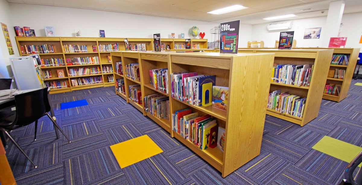 Reedville High School Library