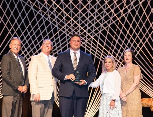 Brandon Flint Wins Hillsboro Chamber's Young Professional Award