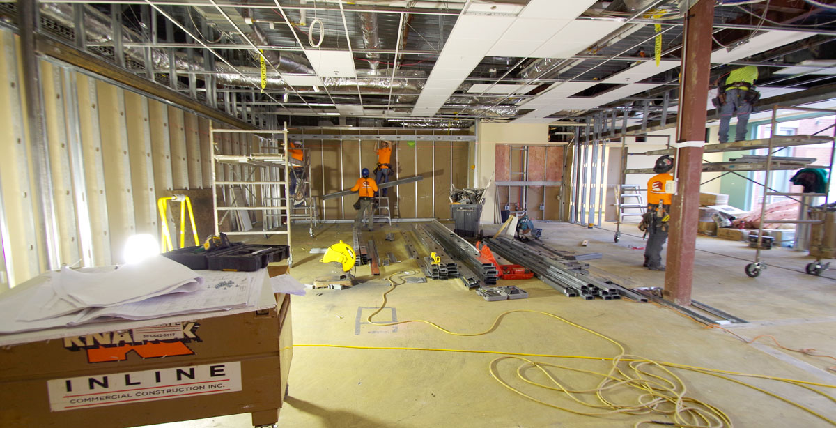 Pacific University Library Remodel 2