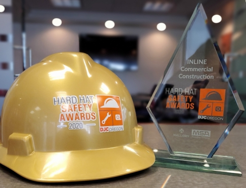INLINE is honoree for 2020 DJC Hard Hat Safety Awards
